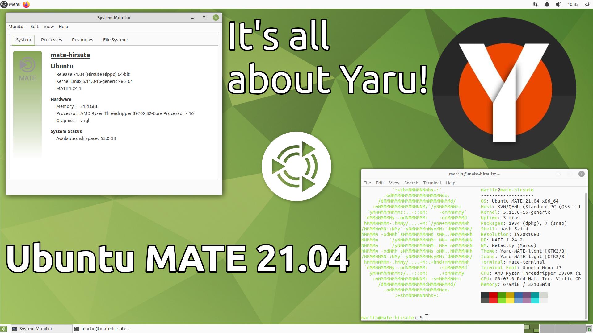 Ubuntu MATE 21.04